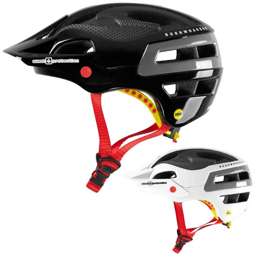 bild bushwhacker carbon mips mountainbike helm gloss. Black Bedroom Furniture Sets. Home Design Ideas