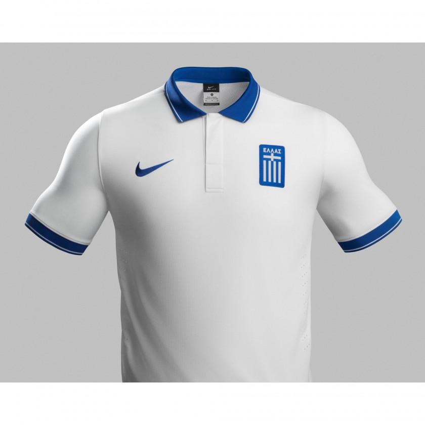 Griechenland Heim-Trikot für die Fußball-Weltmeisterschaft 2014 in Brasilien von NIKE