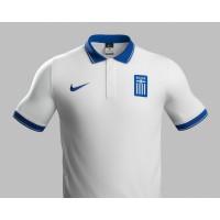 Griechenland Heim-Trikot fr die Fuball-Weltmeisterschaft 2014 in Brasilien von NIKE