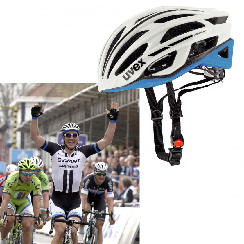 John Degenkolb vom Team Giant-Shimano mit seinem uvex race 5 team Fahrradhelm 2014