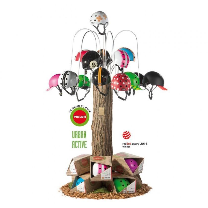 Melon Urban Active Fahrrad- und Rollsporthelme gewinnen reddot award 2014