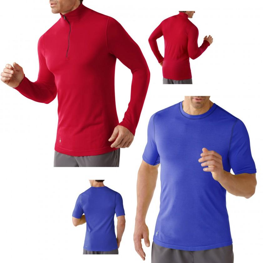 PhD Run Zip T u. PhD Run Short Sleeve Top Men 2014 von SmartWool