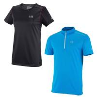 LD ACTIVIST TS SS-Shirt Women u. ACTIVIST ZIP SS-Shirt Men 2014 von MILLET