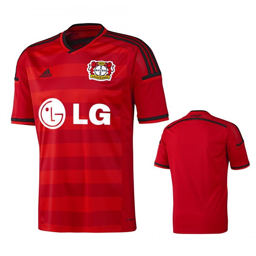 Bayer 04 Leverkusen Heim-Trikot Fußball-Bundesliga Saison 2014/15 von adidas