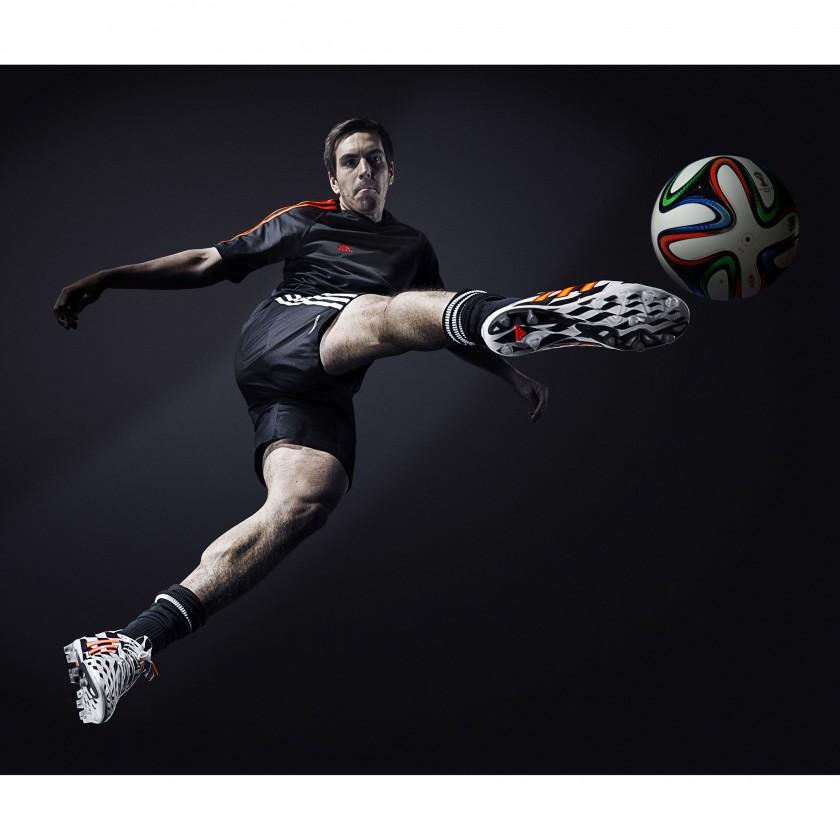 Philipp Lahm im 11pro Battle Pack Fußballschuh 2014 von adidas