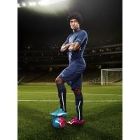 Dante Bonfim Costa Santos - Verteidiger Brasilien - im evoPOWER Tricks Fuballschuh 2014 von PUMA