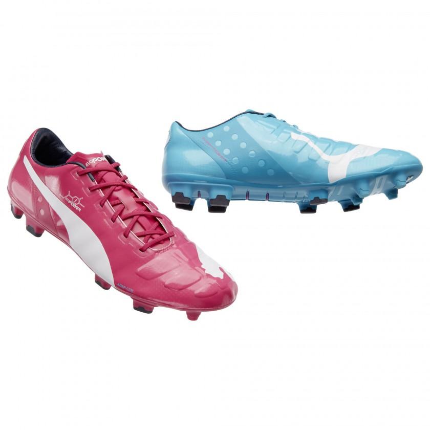 evoPOWER Tricks Fußballschuh pink/blue 2014 von PUMA