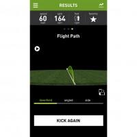 SMART BALL App: Flugkurve des Balles 2014 von adidas