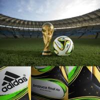 Brazuca Final Rio von adidas ist Spielball des Endspiels der FIFA Fussball-Weltmeisterschaft in Brasilien 2014