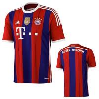 FC Bayern Mnchen Heim-Trikot Fuball-Bundesliga Saison front/back 2014/15 von adidas