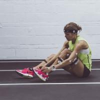 Melissa Bishop im Nike Air Zoom Pegasus 31 Women pink 2014