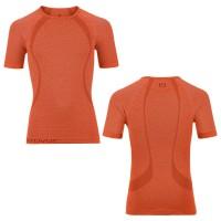 Merino Competition Cool Short Sleeve Funktionsshirt Men front/rear crazy-orange 2015 von Ortovox
