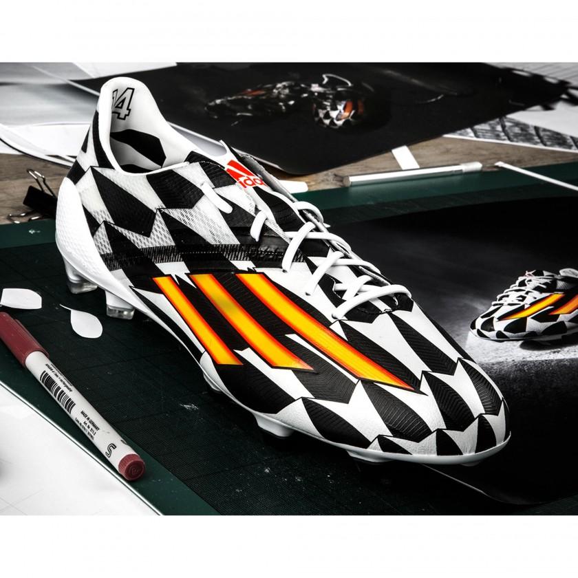 adizero F50 Battle Pack Fuballschuh front 2014 von adidas