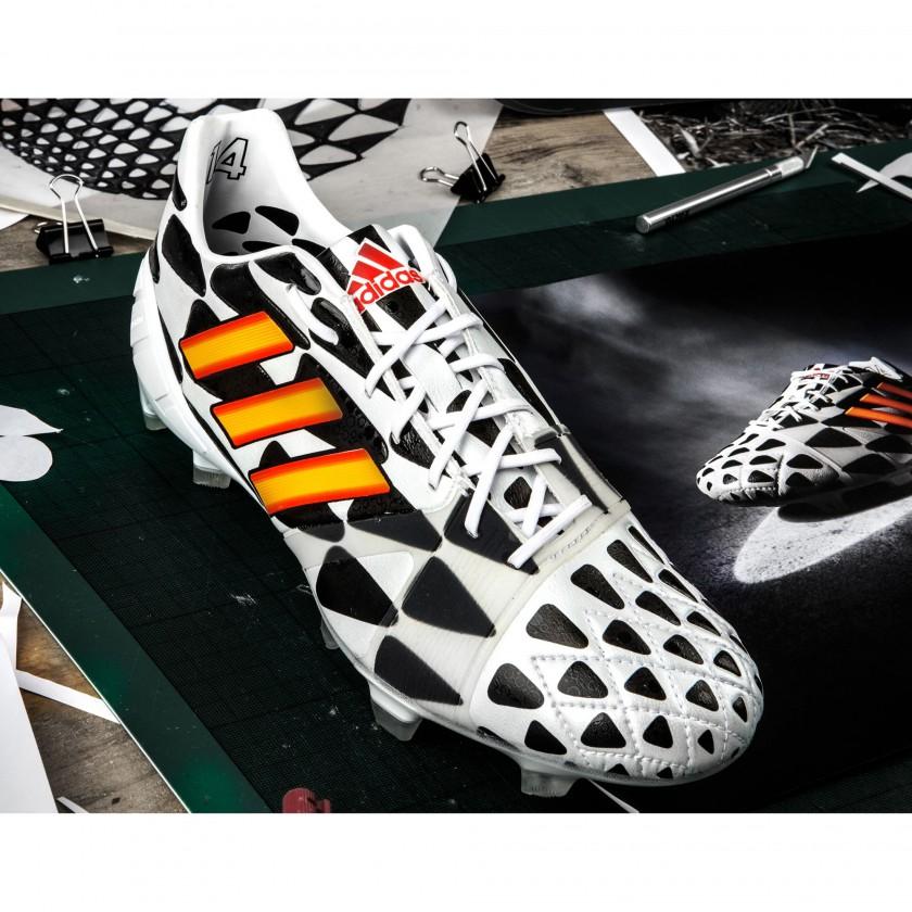 Nitrocharge 1.0 Battle Pack Fußballschuh front 2014 von adidas