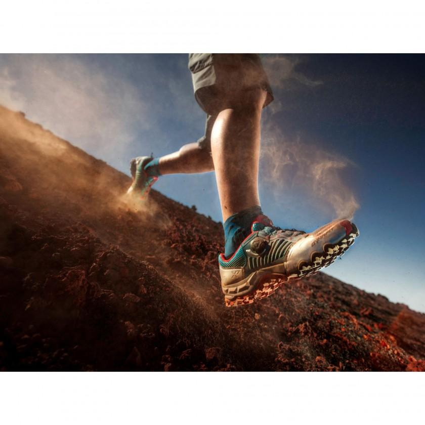 Feline X7 Trailrunningschuh mit Boa-Verschluss Men Laufaction bergab 2015 von DYNAFIT