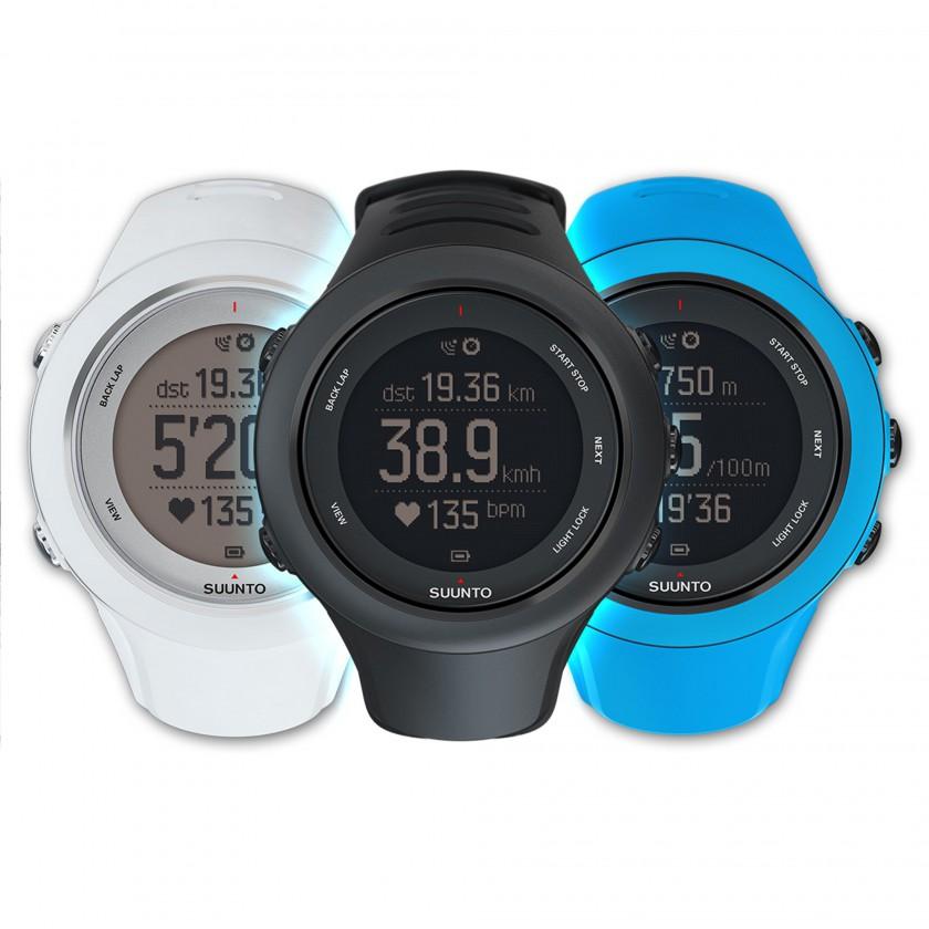 Ambit3 Sport GPS-Multisportuhr schwarz, wei, blau 2014 von SUUNTO