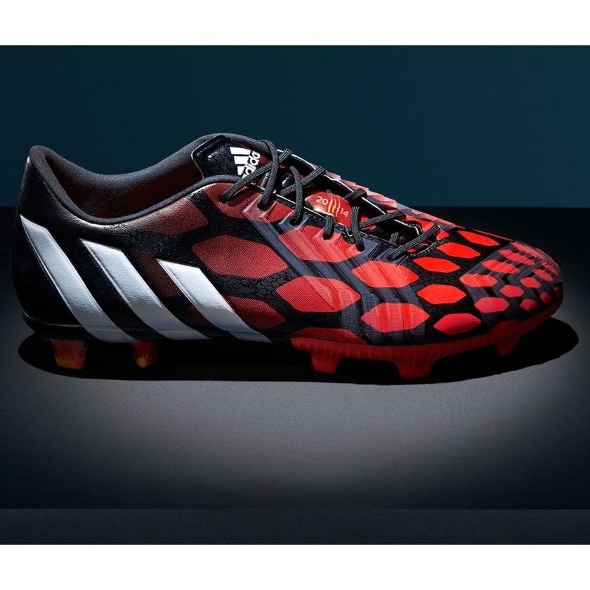 Predator Instinct Fußballschuhe red/white/black side 2014 von adidas