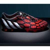 Predator Instinct Fuballschuhe red/white/black side 2014 von adidas