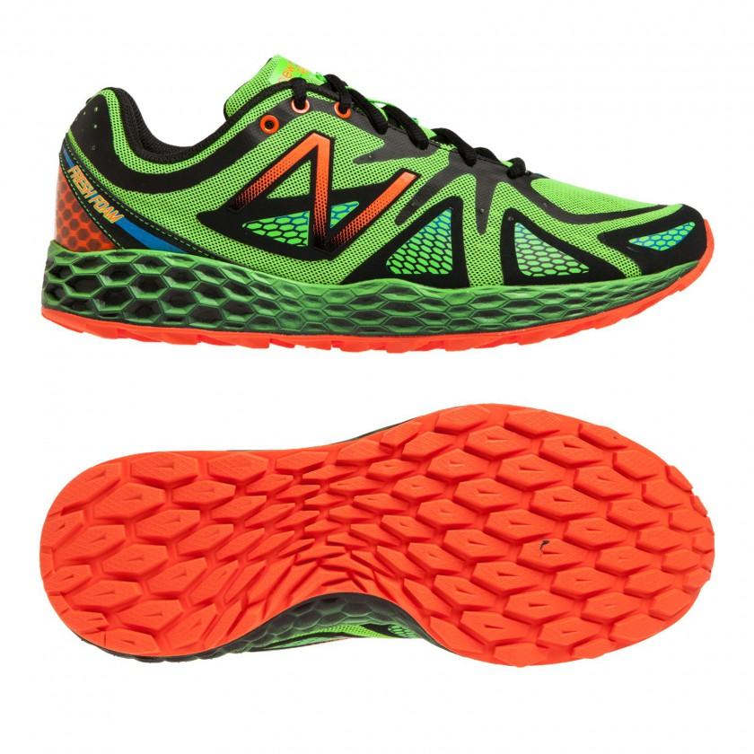 Fresh Foam MT980 Trail-Running-Schuh green Men side, sole 2014 von New Balance