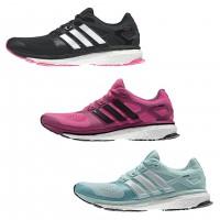 Energy Boost 2 ESM Laufschuhe black, solar-pink, light-blue Women 2014 von adidas