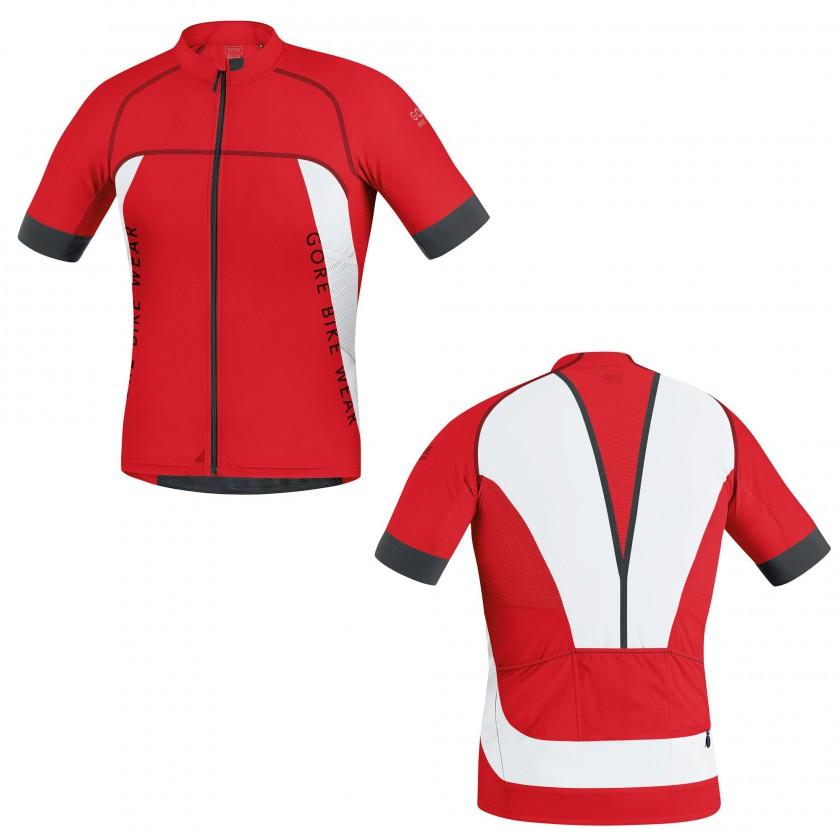 ALP-X PRO Trikot red/white Men 2015 von Gore Bike Wear