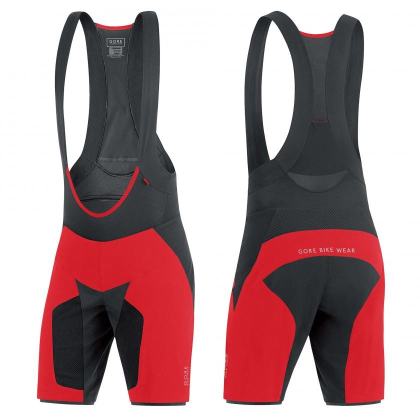 ALP-X PRO 2-in-1 Shorts+ red/black Men 2015 von Gore Bike Wear