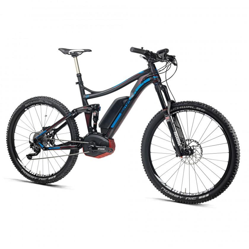 E-KIBO 275 E-Fully-Mountainbike mattschwarz 2015 von Simplon