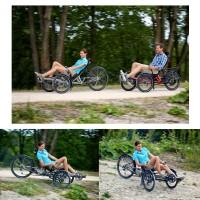 Scorpion plus 26 Trike und E-Trike Action 2015 von HP Velotechnik