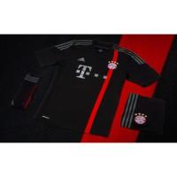 FC Bayern Mnchen Champions League Trikot schwarz/rot 2014/15 von adidas
