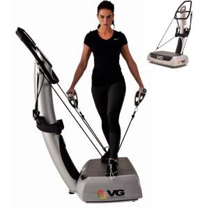 VibroGym Evolution Vibrationstrainingsgert 2014: bung an den Vibrationshaltegriffen