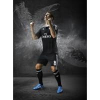Toni Kroos im neuen Real Madrid - Champions League Trikot 2014/15 im Yohji Yamamoto Design von adidas