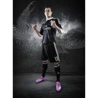 Gareth Bale im neuen Real Madrid - Champions League Trikot 2014/15 im Yohji Yamamoto Design von adidas