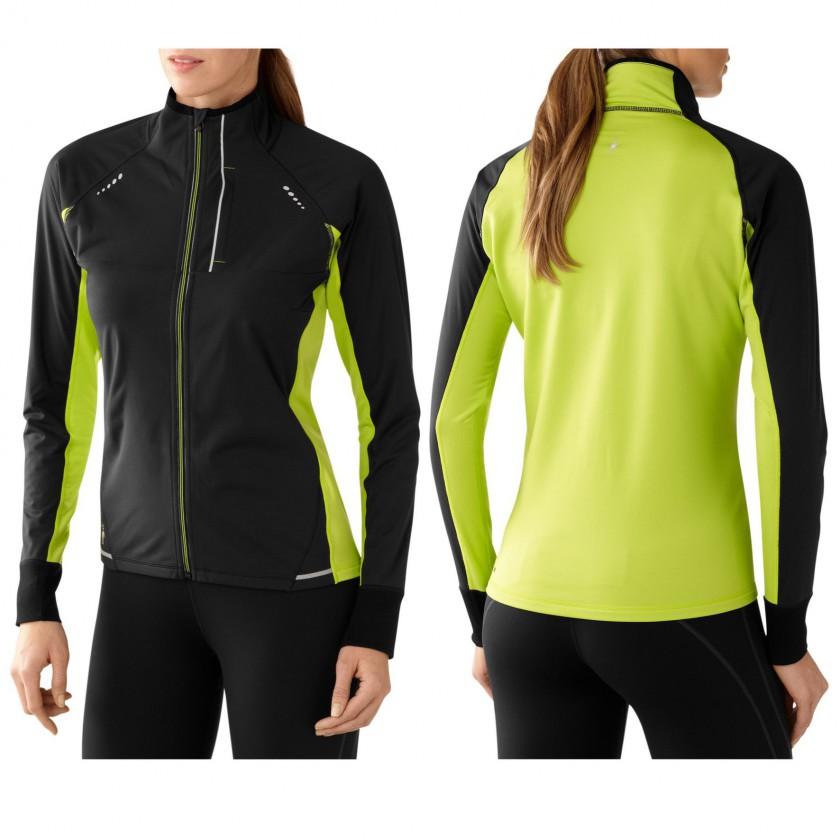 PhD Run Divide Jacket Women front, rear 2014/15 von Smartwool