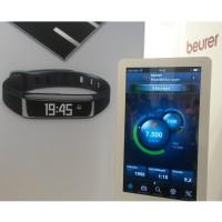 AS 80 Aktivittstracker u. die HealthManager App prsentierte Beurer auf der IFA 2014