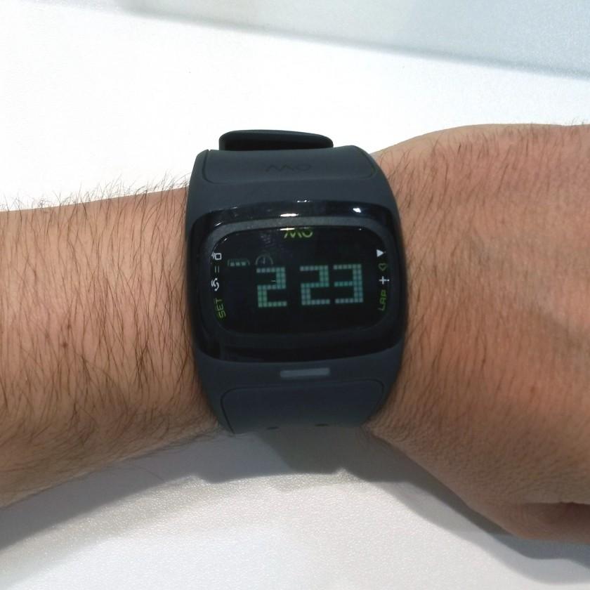 Alpha 2 Sportuhr mit Pulsmesser von MIO wurde auf der IFA 2014 prsentiert