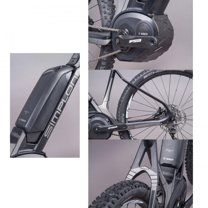 SENGO 275 eMountainbike Hardtail Details: Akku, Antrieb, Hinterbau, VIBREX+ Technologie 2014 von Simplon