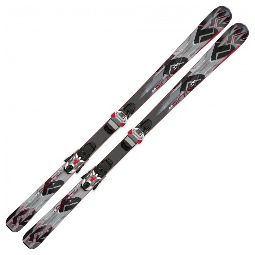 AMP Rictor 82 XTi All-Mountain-Ski 2014/15 mit Baseline 2.0 Technologie von K2 SKIS
