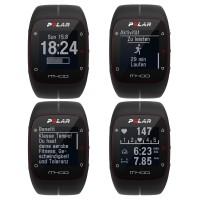M400 Multi-Sportuhr Zeit, Aktivitt, Benefit, Herzfrequenz 2014 von Polar