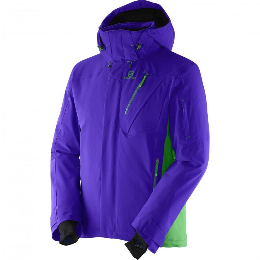 Iceglory Jacket Men blue-green 2014/15 von Salomon