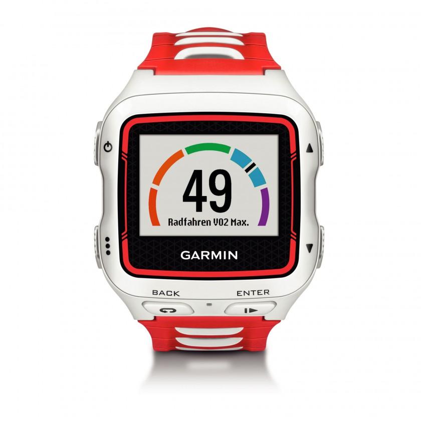 Forerunner 920XT Triathlon-/ Multisportuhr weiss/rot Radfahren VO2 Max  2014 von Garmin