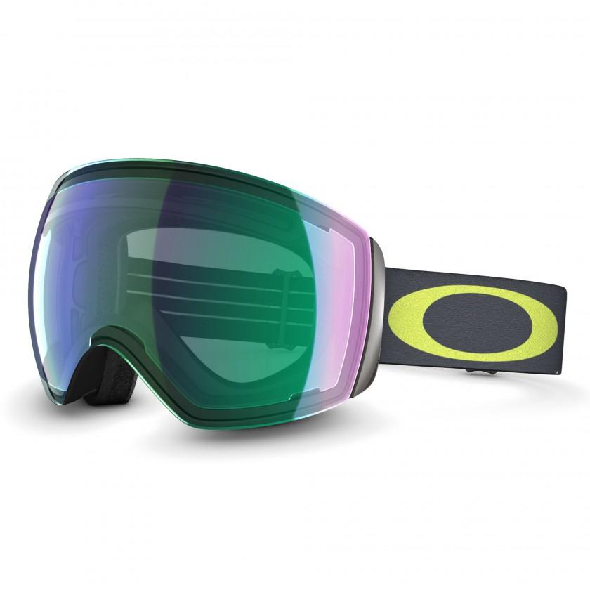 Flight Deck Goggle mit PRIZM Jade Iridium lime/gunmetal 2014 von Oakley
