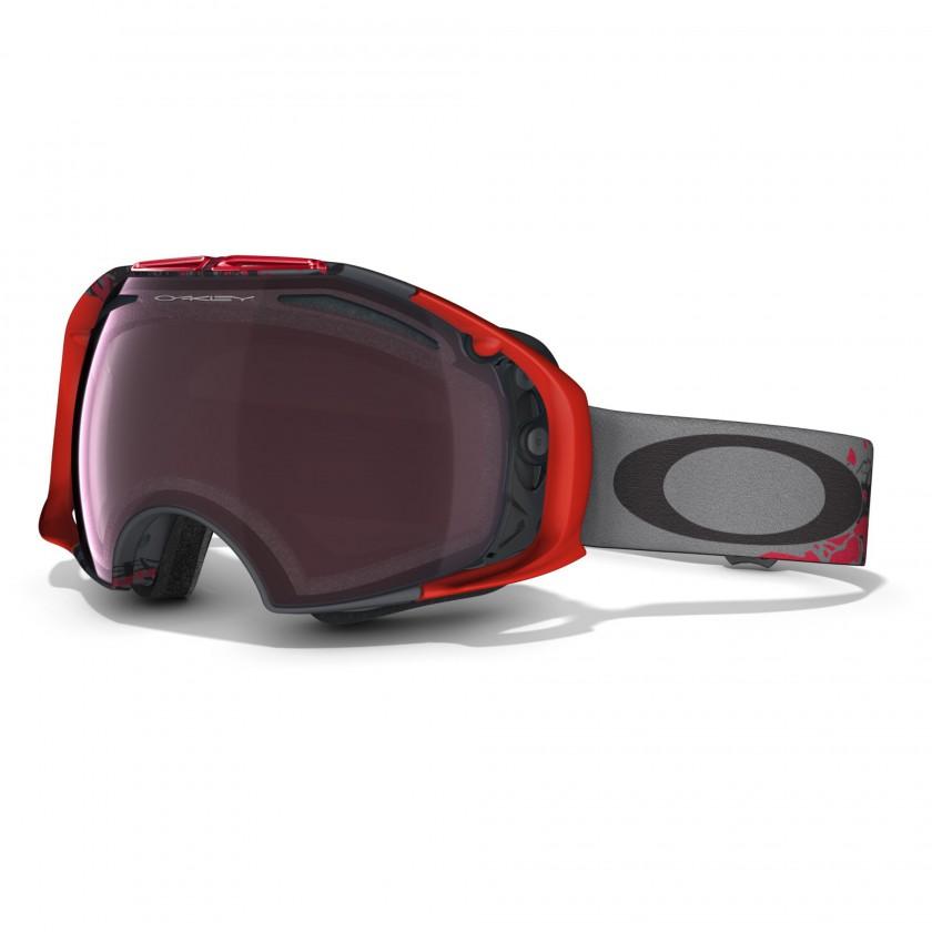 Airbrake Goggle - Seth Morrison Signature Series - mit PRIZM Black Iridium risk-taker-gunmetal 2014 von Oakley