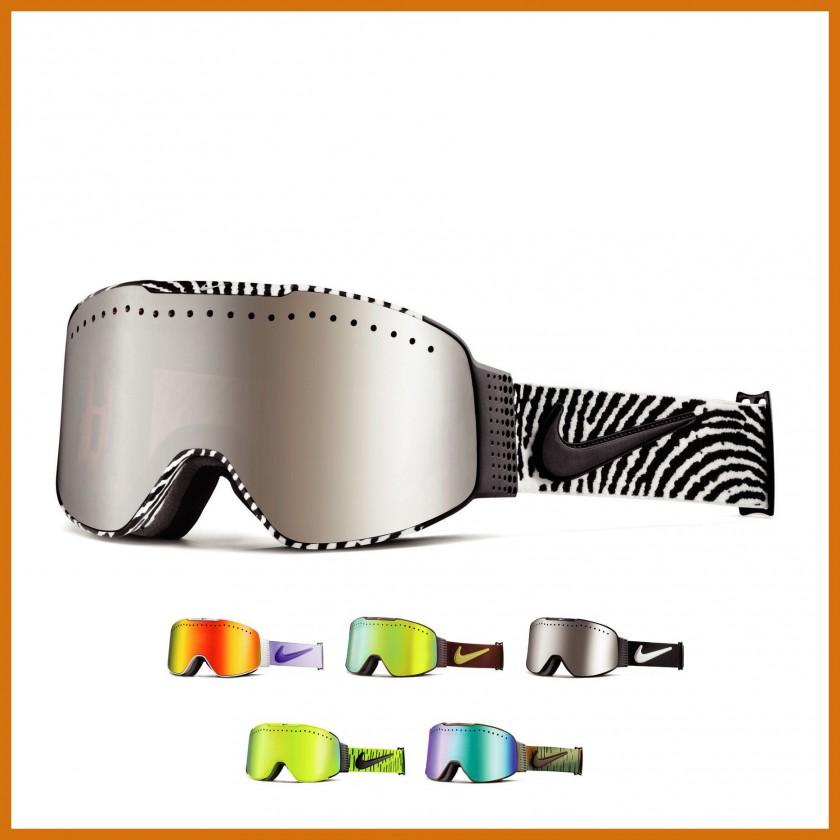 Fade Goggle mit Transitions-Gläser white/black 2014/15 von Nike Vision