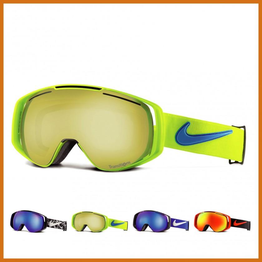 Khyber Goggle mit Transitions-Gläser yellow/blue 2014/15 von Nike Vision