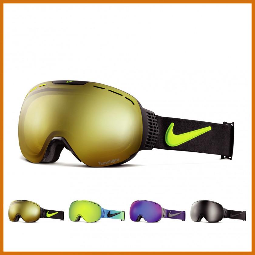 Command Goggle mit Transitions-Gläser black-volt yellow 2014/15 von Nike Vision