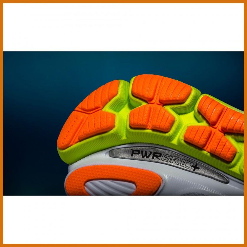 PWRGRID+ Sohlen-Technologie der neuen ISO-Laufschuh-SERIE 2014 von Saucony