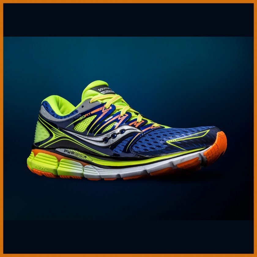 Triumph Laufschuh ISO-SERIE mit ISOFIT-System u. PWRGRID+ 2014 von Saucony
