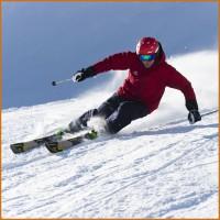 Alpinski-Action im NRGy 90 EVO Men 2014/15 von Nordica