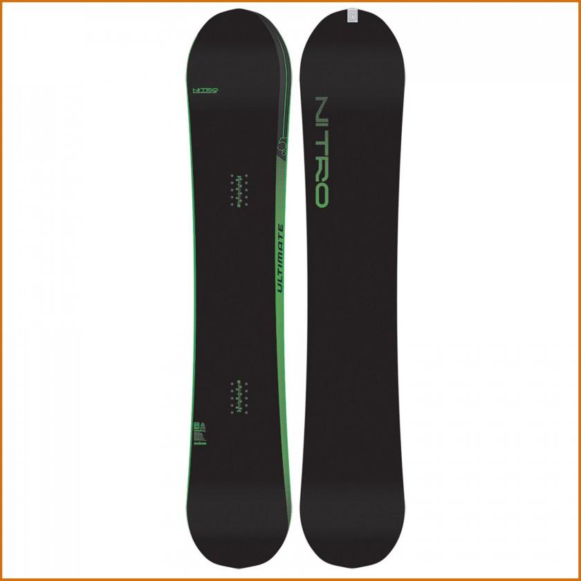 ULTIMATE Snowboard Top u. Base black 2014/15 von NITRO