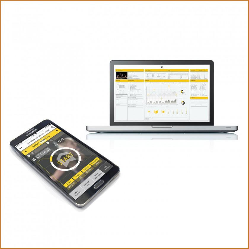 GYMWATCH Webportal und Smartphone App fr iOS u. Android 2014